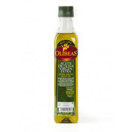 Botella de 500 ml. IRRELLENABLE de Aceite de Oliva Virgen Extra