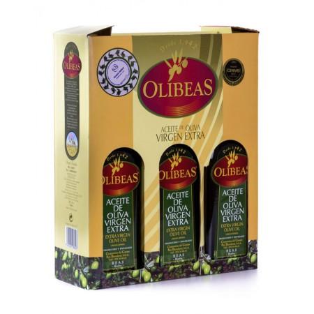3 x 500 ml Case of Extra Virgin Olive Oil bottles